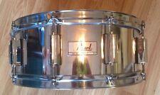Pearl Metal Snare Drum 5x14 10 Lug