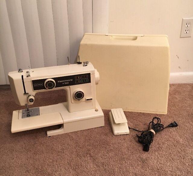 Kenmore 40 Stitch Sewing Machine Model 40 40 eBay Stunning Kenmore Sewing Machine 385