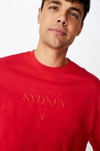 AFL Mens Old School Jumper L/Sleeve Tops  In  Sydney Swans