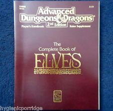 2131 The Complete Book of Elves Handbook Advanced Dungeons & Dragons D&D Players