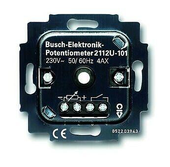 Busch-Jaeger Lichtregel-Potentiometer Unterputz 1-10V Dreh-... 2112U-101   Klein und fein