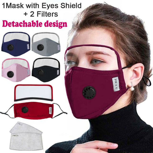 Fluidshield Surgical Mask With Eye Shield Pleated Ties One Size Orange Bx 25 For Sale Online Ebay