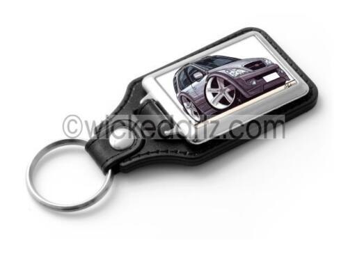 RetroArtz Cartoon Car Kia Sorento MK1 4x4 Ice Blue//Silver Classic Key Ring