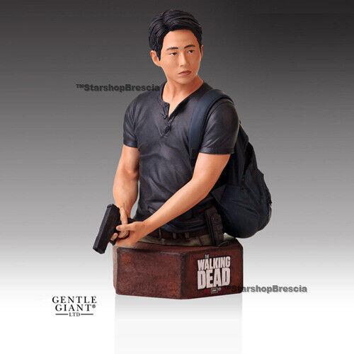 WALKING DEAD TV - Glenn Rhee 1 6 Resin Bust Gentle Giant