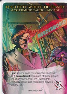 Verzamelingen Niet-sportkaarten STRYFE 2014 Upper Deck Marvel Legendary SP MASTERMIND