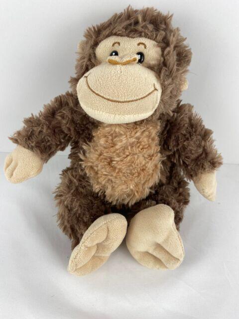 Wishpets 15 Brown Monkey Plush