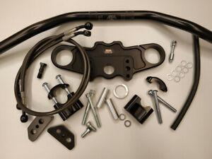 Abm-Superbike-Lenker-Kit-Yamaha-FZR-600-R-4MM-4MH-4JH-4FH-93-95-Noir
