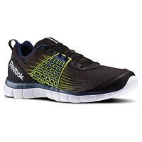 Men Reebok Z Dual Rush Running M47681 Black Blue Yellow 100% Authentic Brand
