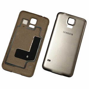 official photos acd21 8cf0b Details about Genuine Original Back Battery Cover For Samsung Galaxy S5 Neo  G903F - Gold