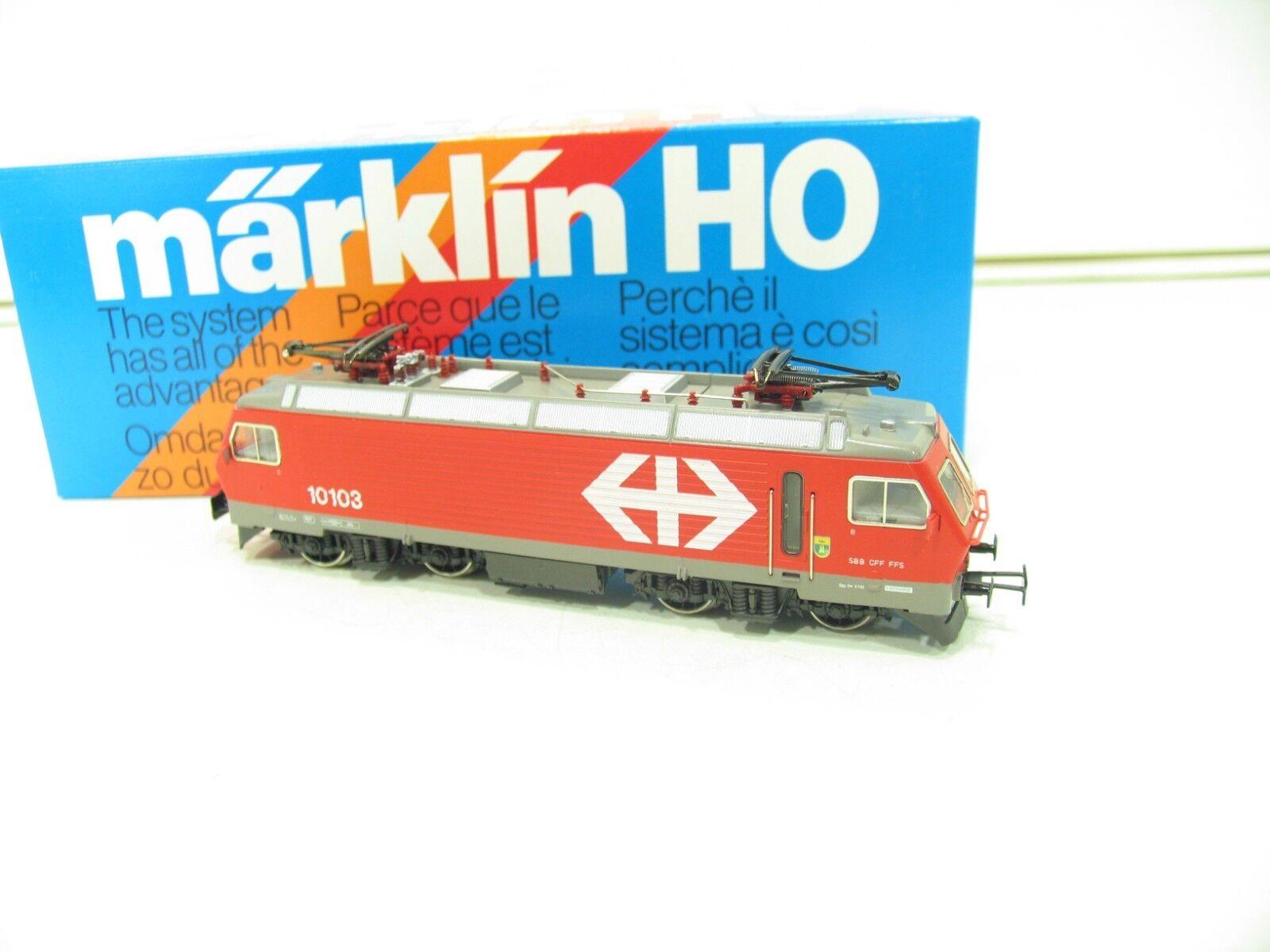 Märklin 3328 E-Locomotive Series Re 4 4 red SBB sl79