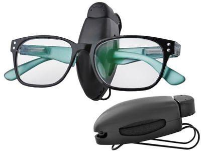 Brillenhalter Sonnenbrille Ticket Karte Klipp Halter Klammer für Auto KFZ