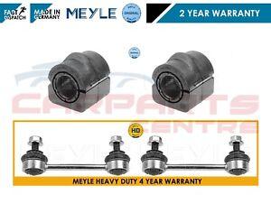 FOR BMW E46 2 FRONT HEAVY DUTY ANTIROLL BAR STABILISER LINKS D BUSHES