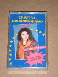 CRISTINA-D-039-AVENA-L-039-EUROPA-SIAMO-NOI-MUSICASSETTA-MC-SIGILLATA-SEALED