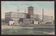 Postcard SOUTH BRAINTREE Massachusetts/MA Rice & Hutchins Shoe Factory No.7 1907
