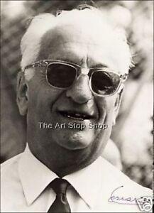 Enzo Ferrari Unterschrift Fotoprint Ebay