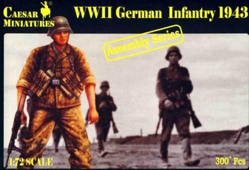 Caesar-soldados-alemanes-German-soldiers-Infantry-1943-de-infanteria-1-72-Model