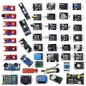 Arduino Sensor Multi-Pack 45x Sensors for Arduino Uno R3 Mega2560 Starter Kit UK
