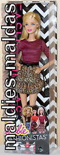 BARBIE Fashionistas Barbie Glam Party Rock nel Leopardi Look cjy40 Nuovo/Scatola Originale Bambola
