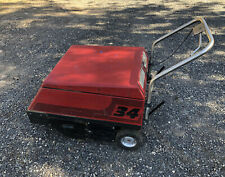 Factory Cat Model 34 Walk Behind Floor Sweeper In Working Order Free Shipping