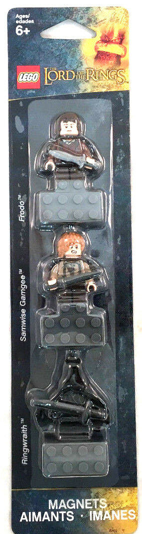 Lego Lord Of The Rings Samwise Magnets Minifigures Frodo Samwise Rings Gamgee Ringwraith New c1cd23