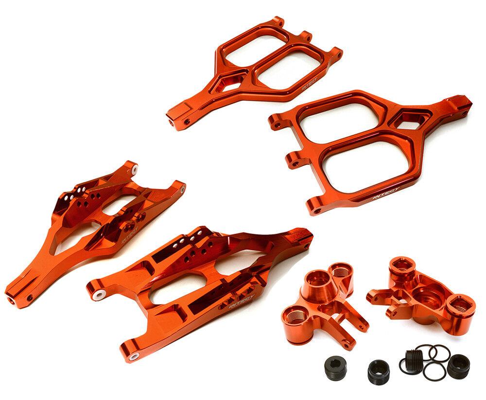INTEGY RC Car C28156rosso F Suspension Set for 1 10 T-Maxx E-Maxx 3903 5 8 4907 8