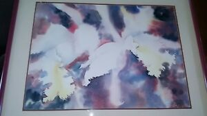 Sue-Archer-Florida-artist-abstract-floral-signed-watercolor-painting-EC