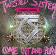 Come Out & Play by Twisted Sister (CD, Nov-1998, Wea/Atlantic)