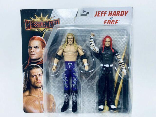 WWE MATTEL BASIC BATTLE PACK SERIES WRESTLEMANIA 35 EDGE WRESTLING FIGURE WWF