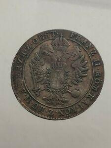 Gorizia-Francois-II-D-039-Habsbourg-Lorena-15-Argent-1802-F-Hall-Evalue