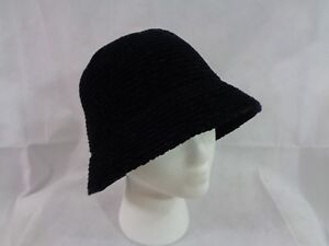 2e3489de03a August Hat Company Women s Black Chenille Classic Cloche Hat OS NWT ...