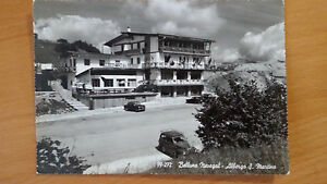 Cartolina-Postcard-BELLUNO-NEVEGAL-Albergo-S-Martino-viaggiata-1964