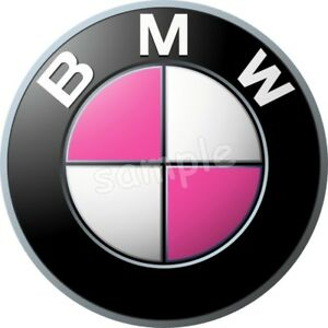 Bmw Pink Auto Essbar Tortenaufleger Neu Party Deko Geburtstag Dvd
