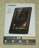 Polaroid - 7 Android 4.4 (kitkat) Tablet - Black