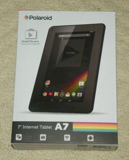 polaroid 7 android tablet black ebay rh ebay com Polaroid Tablet Support Polaroid Tablet Charger