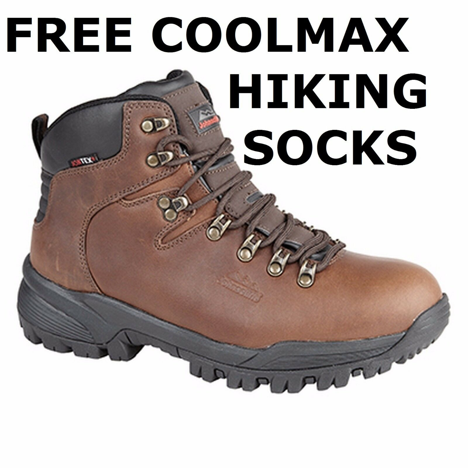 WATERPROOF & BREATHABLE HIKING JOHNSCLIFFE WALKING Stiefel HI GRIP SOLE JOHNSCLIFFE HIKING CANYON 52e4bf