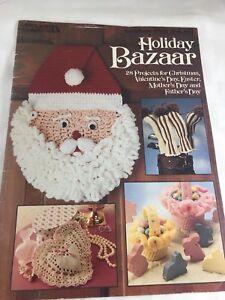 Holiday Bazaar Crochet Knit Patterns Christmas Easter Craft Show