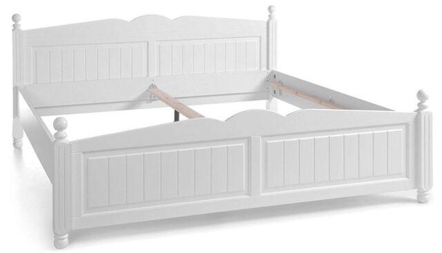 Cinderella Premium Bett 180x200 Cm Kiefer Weiß Lackiert Günstig