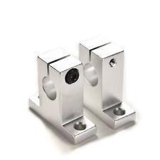 2pcs Sk12 12mm Bearing Cnc Aluminum Linear Rail Shaft Guide Support Economics Sh