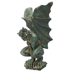 Gargoyle Guardian Gothic Resin Winged Outdoor Garden Home Decor Statue Sculpture