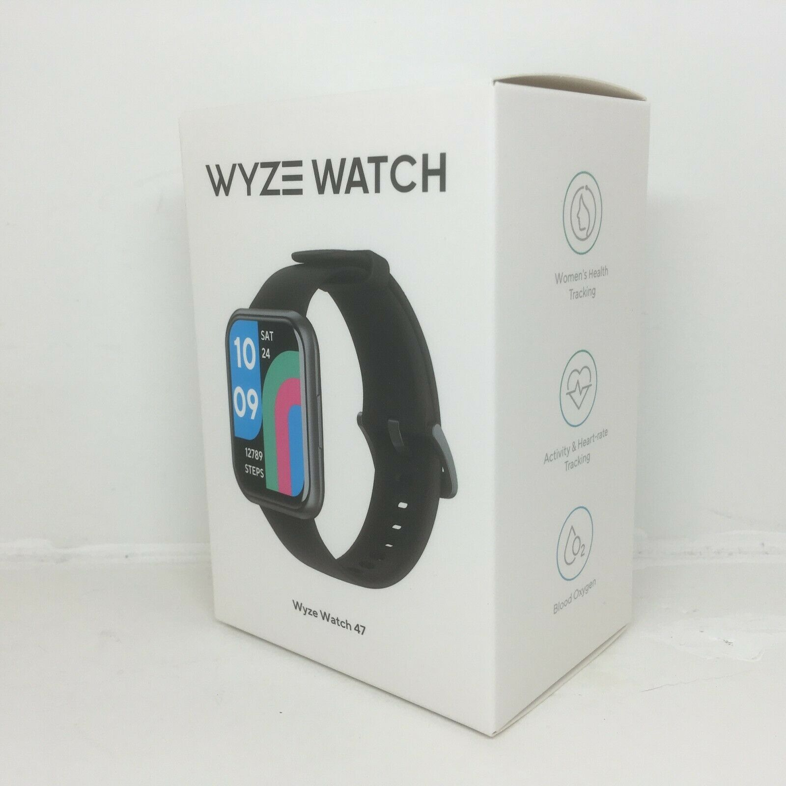 WYZE WATCH 47, NEW: Blood Oxygen, Sleep Tracking, Activity/Heart-Rate Tracking