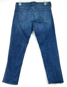 New Kut From The Kloth Womens Catherine Mid Rise Boyfriend Denim Jeans Sz US 12