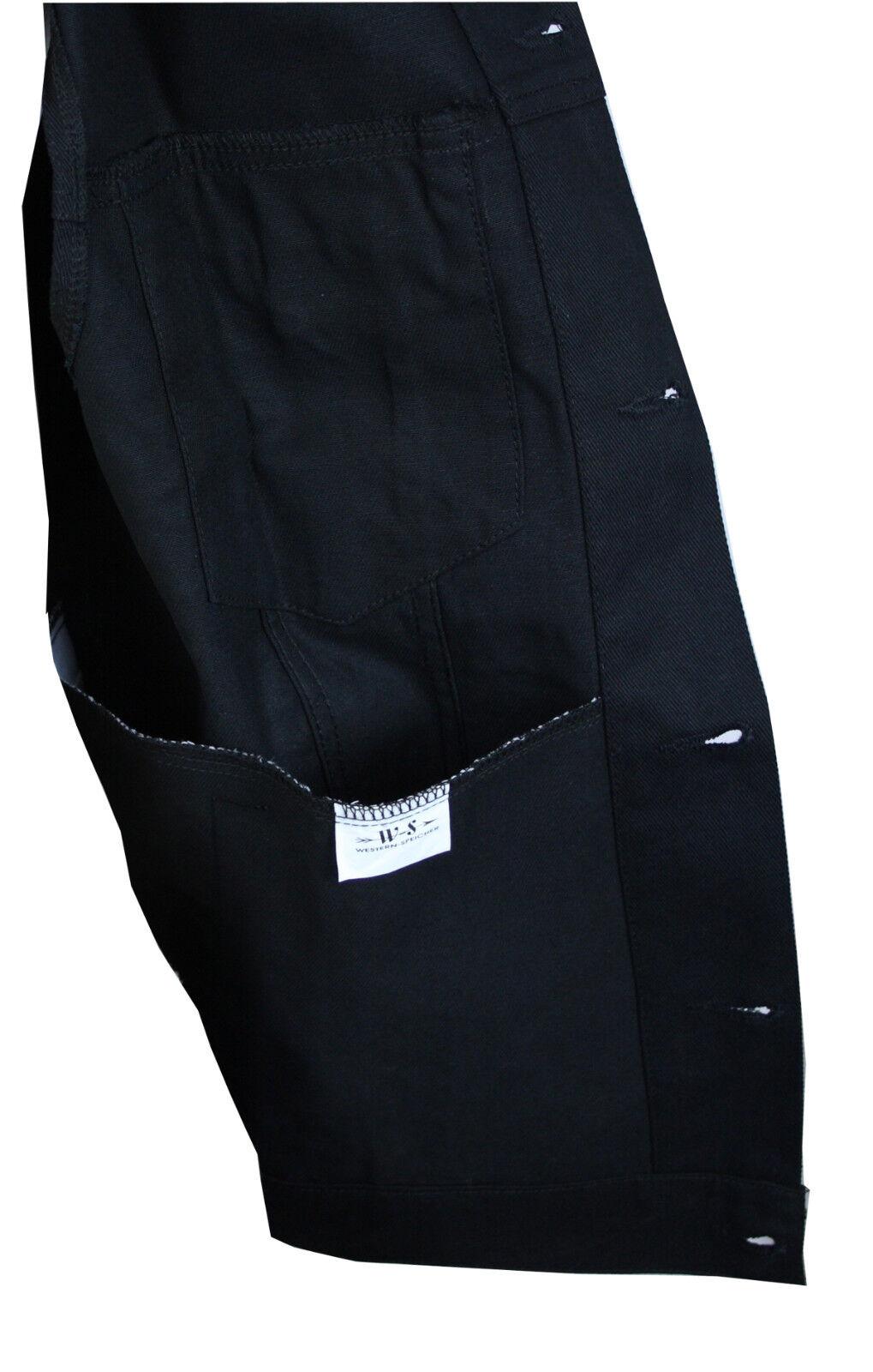 WESTERN-SPEICHER WESTERN-SPEICHER WESTERN-SPEICHER Jeansweste Herren Denim Light Biker Weste Kutte schwarz S - 4XL | Exquisite (mittlere) Verarbeitung  4bb776