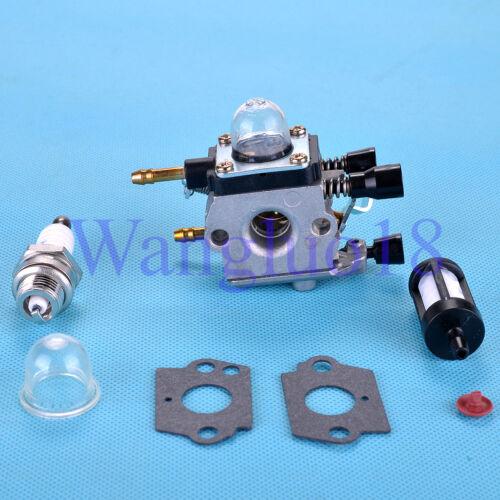 Carburetor Carb Primer Bulb Fuel Filter Kit Fit STIHL BG55 BG65 BG85 SH55 SH85
