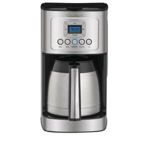 Cuisinart 12 Cup Programmable Thermal Coffeemaker Stainless Steel Dcc 3400