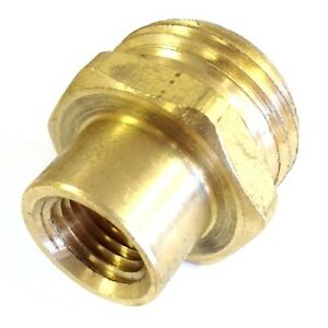 3 4 male garden hose ght x 1 4 female npt fip water air pipe adapter fitting ebay for Male to male garden hose adapter