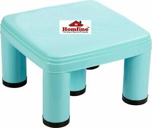 Plastic Bathroom Stool/Chair Big Size Strong 5 Legs Multipurpose Pack of 1