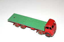 Dinky Toys 2 Tone 2nd Type Foden Flat Truck # 902 Rare Red Cab Version !!