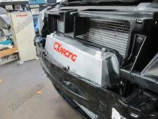 CX Turbo Front Mount Intercooler + Shroud Kit For 11+ BMW 335is E90 E91 E92 Blue