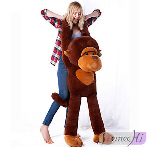 Large Size 90cm 35 4 New Huge Big Monkey Stuffed Animal Plush Soft