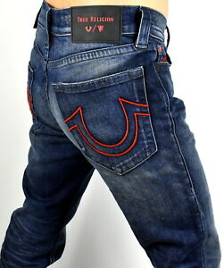 644c310ab Image is loading True-Religion-199-Manchester-United-Rocco-Relaxed-Skinny-